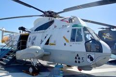Il Sikorsky SH-3 Sea King Fotografia Stock