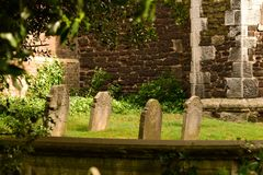 Il silenzio del cimitero immagini stock libere da diritti