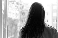 Il silenzio nell'anima fotografie stock