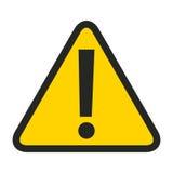 il simbolo attento ha isolato la progettazione dell'icona illustrazione di stock