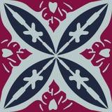 Il simbolo decorativo di arte di progettazione del murale marocchino illustrazione di stock