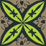 Il simbolo decorativo di arte di progettazione del murale marocchino illustrazione vettoriale