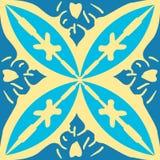 Il simbolo decorativo di arte di progettazione del murale marocchino royalty illustrazione gratis