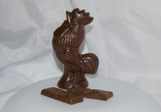 Il simbolo del nuovo anno un gallo Immagini Stock Libere da Diritti