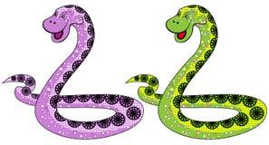 Il simbolo del serpente in 2013 Fotografia Stock Libera da Diritti