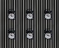 Il simbolo del tempo è la sveglia sui precedenti della t Fotografia Stock Libera da Diritti