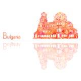 Il simbolo della Bulgaria illustrazione vettoriale