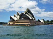 Il simbolo iconico dell'Australia, bello Sydney Opera House immagine stock