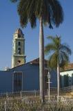 Il sindaco della plaza in Trinidad, Cuba, Fotografia Stock Libera da Diritti