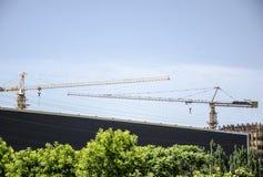 Il sito della costruzione di edifici, Pechino Immagine Stock Libera da Diritti