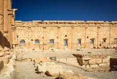 Il sito di Palmira Fotografia Stock