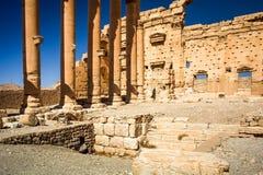 Il sito di Palmira Immagini Stock