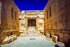 Il sito di Palmira Fotografia Stock Libera da Diritti