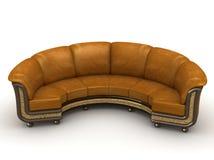 Il sofà reale Fotografie Stock Libere da Diritti