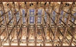 Il soffitto nelle riunioni del comune di Stoccolma del castello Fotografie Stock Libere da Diritti