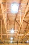 Il soffitto può l'illuminazione immagini stock libere da diritti