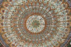 Il soffitto verniciato è aumentato Fotografia Stock