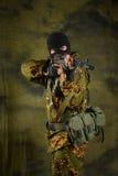 Il soldato Fotografie Stock Libere da Diritti