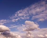 Il sole, il cielo, nuvole Immagine Stock Libera da Diritti