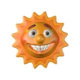 Il sole lucida in mattine Fotografie Stock Libere da Diritti