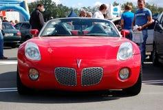 Il Solstice della Pontiac ad annuale automobilistico-mostra fotografia stock libera da diritti