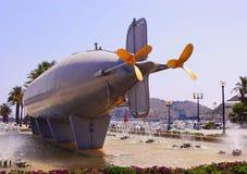 Il sommergibile di Peral Fotografia Stock Libera da Diritti