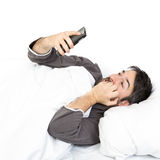 Il sonno del tempo si sveglia tardi Fotografia Stock Libera da Diritti