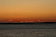 Il sopracciglio arancio del mare Immagini Stock