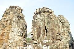 Il sorriso di Angkor Fotografia Stock