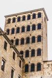 Il Square di re di Barcellona. Immagini Stock Libere da Diritti