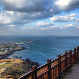 IL SUD COREA Isola di Jeju Immagini Stock