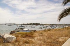 Il sud del Portogallo - i Portoghesi abbelliscono in Algarve Immagini Stock Libere da Diritti