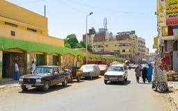 Il sud dell'Egitto Fotografia Stock