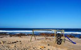 Il Sudafrica, itinerario del giardino, baia di Mossel Immagine Stock