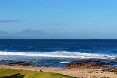Il Sudafrica, itinerario del giardino, baia di Mossel Immagini Stock