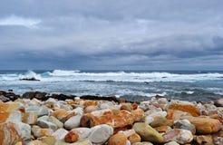 Il Sudafrica, la Provincia del Capo Occidentale, la penisola del Capo Fotografia Stock Libera da Diritti