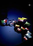 Il Sudamerica Fotografie Stock