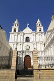 Il Sudamerica, costruzione coloniale bianca Fotografia Stock Libera da Diritti