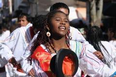 Il Sudamerica - la Bolivia, festa del sucre Fotografie Stock Libere da Diritti