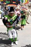 Il Sudamerica - la Bolivia, festa del sucre Fotografia Stock Libera da Diritti