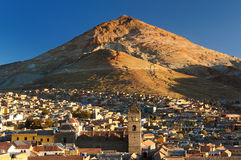 Il Sudamerica - la Bolivia, Potosi Fotografie Stock Libere da Diritti