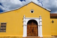 Il Sudamerica, Venezuela, vista sulla città coloniale di Coro fotografia stock libera da diritti