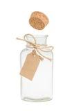 Il sughero schiocca fuori dalla bottiglia Fotografia Stock