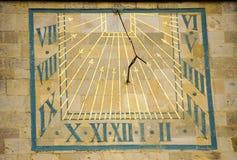 Il Sundial Immagine Stock