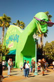 Il Sunglass Shack di Jack del dinosauro Immagine Stock
