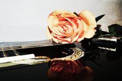 Il suono di amore, primo piano fotografie stock
