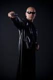 Il supereroe cattura allo scopo Fotografia Stock