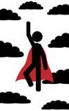 Il superman Fotografia Stock