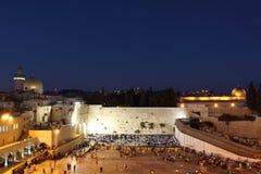 Il supporto del tempiale a Gerusalemme Fotografie Stock Libere da Diritti