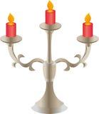 Il supporto di candela Immagini Stock